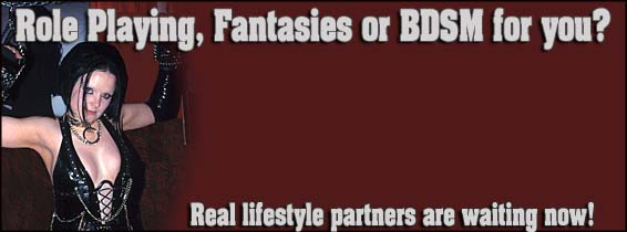 BDSM personals, fantasies, role playing